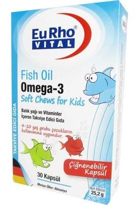 Eurho Vital Fish Oil Omega-3 30 Kapsül