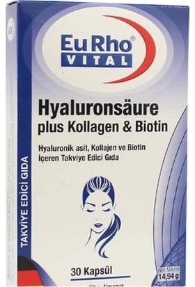 Eurho Vital Hyaluronsaure 30 Kapsül