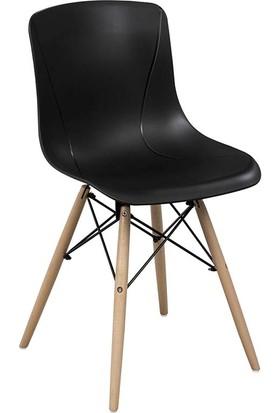 Fnz Eames Ahşap Ayaklı Sandalye