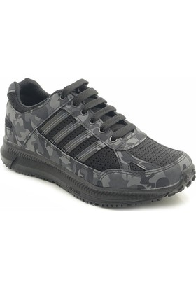 Man 30A02 Erkek Günlük Kamuflaj Spor Ayakkabı