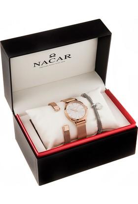 Nacar 34-390255-RSM-SET Kadın Kol Saati