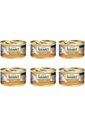 Gourmet Gold Kıyılmış Hindi 85 Gr x 6 Adet