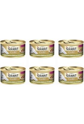 Gourmet Gold Çifte Lezzet Ciğer Tavşan 85 Gr x 6 Adet