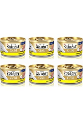 Gourmet Gold Kıyılmış Tavuklu 85 Gr x 6 Adet