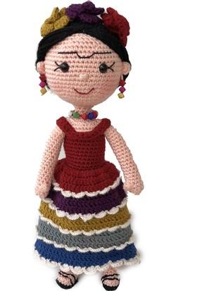 Gülcan'ın Dünyası Frida Kahlo Örgü Oyuncak (Amigurumi)