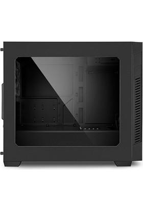 Sharkoon S1000 SiyahPencereli 2x Led Fanlı 2xUSB 3.0 Micro-ATX Oyuncu Kasası