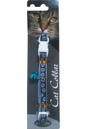 Goodnesscat Safety Collar Kedi Boyun Tasması Mavi 10 Mm x 30 Cm