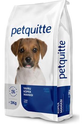 Petquitte Puppy Yavru Köpek Kuru Maması 3 Kg