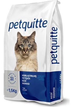 Petquitte Kısırlaştırılmış Kedi Kuru Maması 1.5 Kg