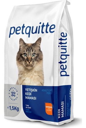 Petquitte Adult Salmon Yetişkin Somonlu Kedi Kuru Maması 1,5 Kg