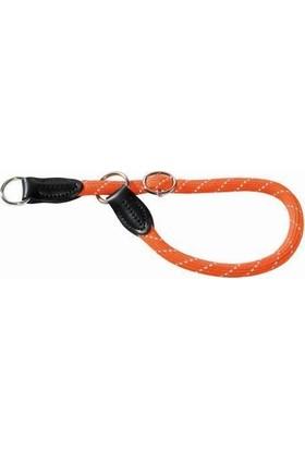 Hunter Freestyle Boğma Eğitim Tasması 12 Mm x 50 Cm Turuncu