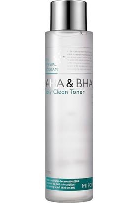 Mizon Aha Bha Daily Clean Toner - Aha Bha Günlük Premium Temizleyici Tonik