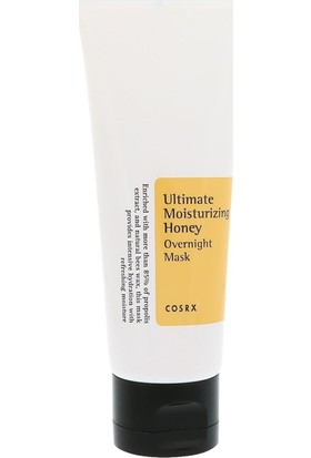Cosrx Ultimate Moisturizing Honey Overnight Mask- Nemlendirici Bal Ekstreli Spa Maskesi