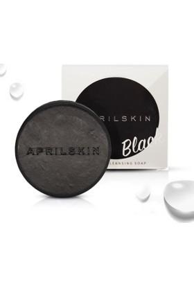 April Skin Magic Stone Black - Fransız Yeşil Kil Kömür İçeren Premium El Yapımı Temizlik Sabunu
