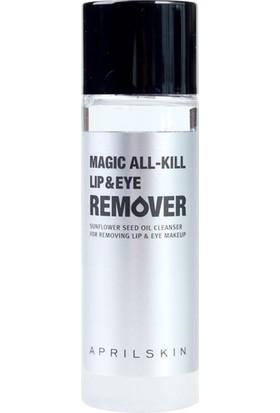 April Skin Magic All-Kill Lip Eye Remover -Göz Dudak Makyajı Temizleyici 5 Saniyede Pratik Çözüm