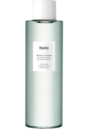 Huxley Cleansing Water; Be Clean, Be Moist - Sahra Kaktüsü Ekstreli Tonik