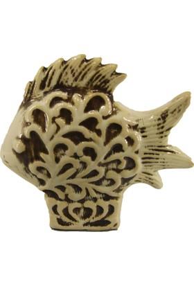 LuckyArt Eskitme Dekoratif Balık Hediyelik Süs Eşyası