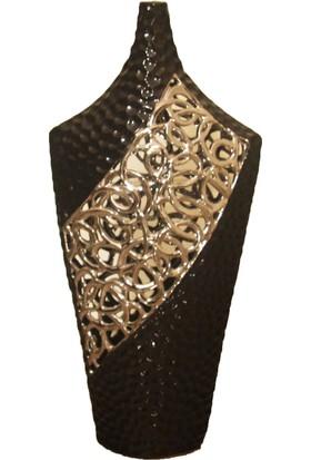 Cossa Siyah Gümüş Dekor Ürünü