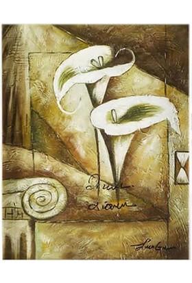 Bellona Tablo Beyaz Zambaklar