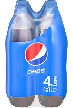 Pepsi Pet Şişe 4 x 1 lt Kola