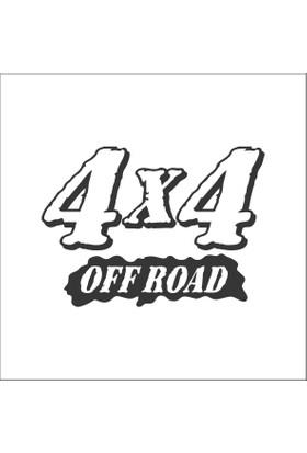 Kaliteli 4X4 OFF Road Stickerı
