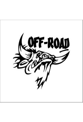 Boğa Kaliteli OFF Road Stickerı
