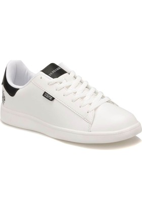 U.S. Polo Assn. Kadın Franco Light Beyaz Sneaker