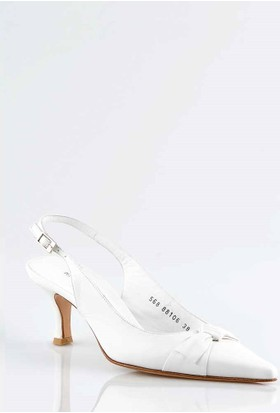 Pedro Camino Bayan Klasik Ayakkabı 89106 Beyaz