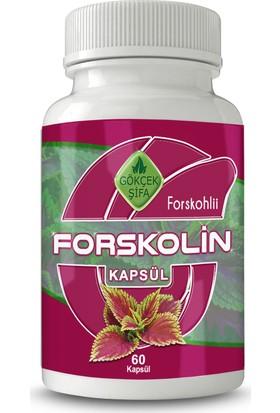 Gökçek Forskolin Bitkisel Kapsül 60 Adet (1000 mg)