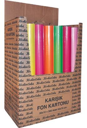 Keskin Color 35x50 15 Renk Spiralli Fon Kartonu