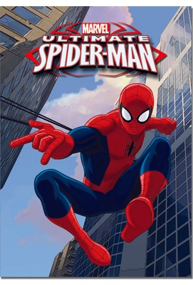 Keskin Color Spiderman A4 40 Yaprak Çizgili PP Kapaklı Dikişli Defter