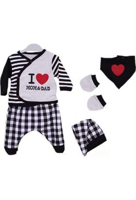 Babycool 44602 I Love Mom & Dad 5'li Bebek Hastane Seti