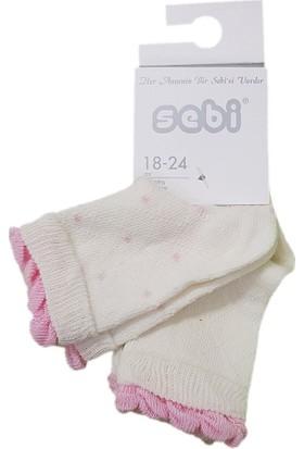 Sebi Bebe 6305 2'li Bebek Çorabı