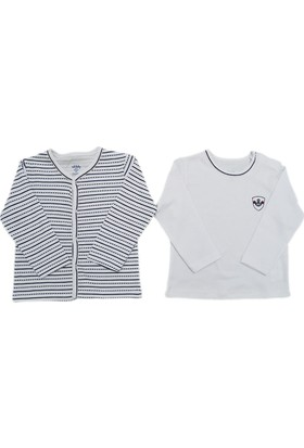 İdil Baby 9975 Bebek Hırka-Tshirt