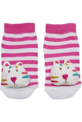 Mini Damla 41893 Çıngıraklı Bebek Çorabı
