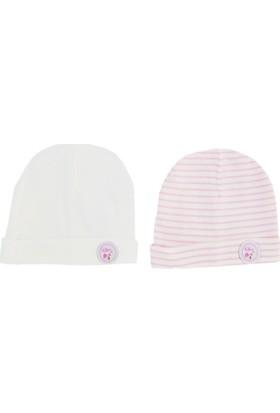 İdilbaby 9583 2'li Bebek Şapkası