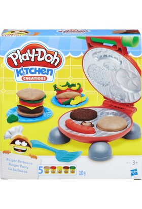 Play-Doh Burger Seti