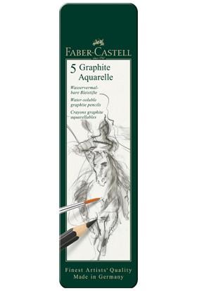 Aquarell Dereceli Kalem Seti 5'Lİ Metal Kutu