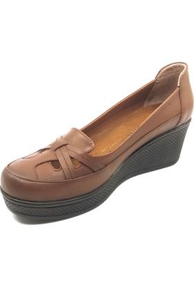 Pianoluce Deri Kadın Ayakkabı Taba Pla29-207
