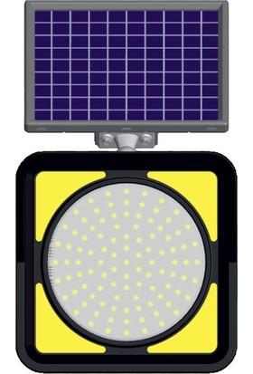 Evelux Tech Solar Flaşörlü Trafik Lambası