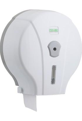 Vi̇alli̇ Mini Jumbo Wc Tuvalet Kağıdı Dispenseri Aparatı Beyaz Vialli