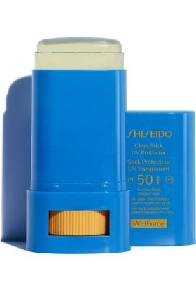 Shiseido Global Sun Care Clear Stick Uv Protector Spf+50 Güneş Kremi 15 gr
