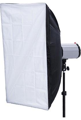 Fotexon 120 W 3 Lü Softboxlı Paraflaş Set
