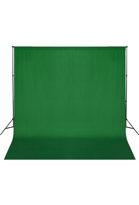 Fotexon Greenbox Chromakey- Green Screen- 3X6 Yeşil Fon Perdesi