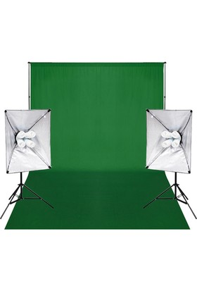 Fotexon Greenbox Chromakey Çekim Seti 4