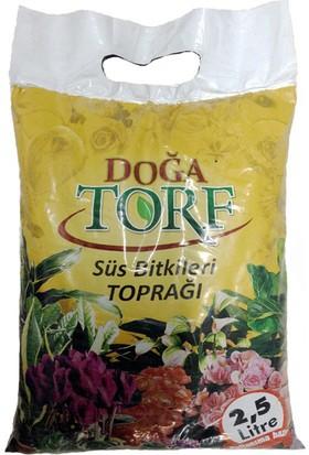 Doğa doğal süs bitkisi Torf toprağı 2,5 Litre