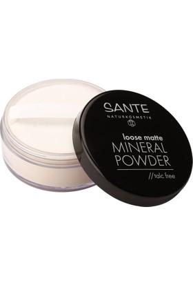 Sante Organik Mat Mineral Toz - No:01 Açık Bej 12 gr