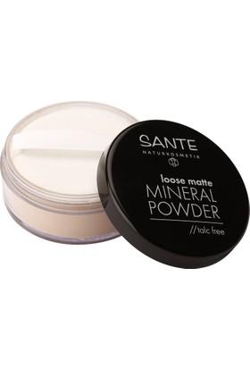 Sante Organik Mat Mineral Toz - No:02 Kum Rengi 12 gr