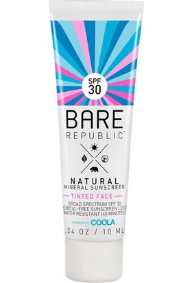Coola Bare Republic Tinted Face SPF30 Lotion Güneş Koruma Kremi 50 ml
