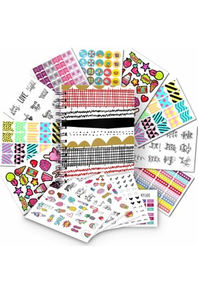 Juno Fırsat Paketi - Planlayıcı - Sticker Set / Line Up